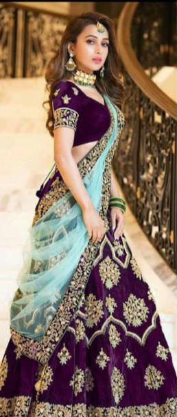 amazing-lehenga-for-womens-in-purple-color-with-heavy-velvet-choli