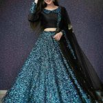black-and-blue-color-full-sequence-heavy-velvet-lehenga-choli