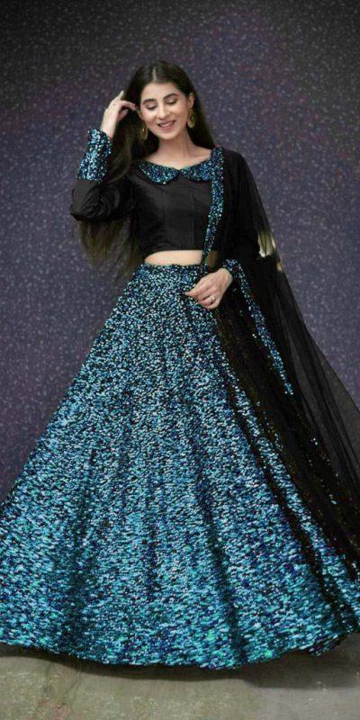 black-and-blue-color-full-sequence-heavy-velvet-lehenga-choli