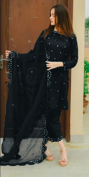 daily-wear-salwar-suit-for-womens-in-black-color-georgette-bember
