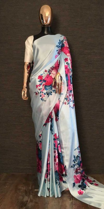 digital-floral-printed-saree-for-womens-in-light-sky-blue-color-smooth-satin-silk