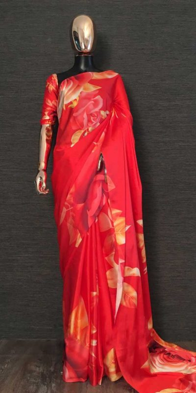 digital-floral-printed-saree-for-womens-in-red-color-smooth-satin-silk