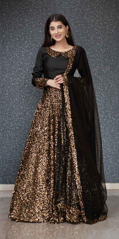 gold-and-black-color-full-sequence-heavy-velvet-lehanga-choli