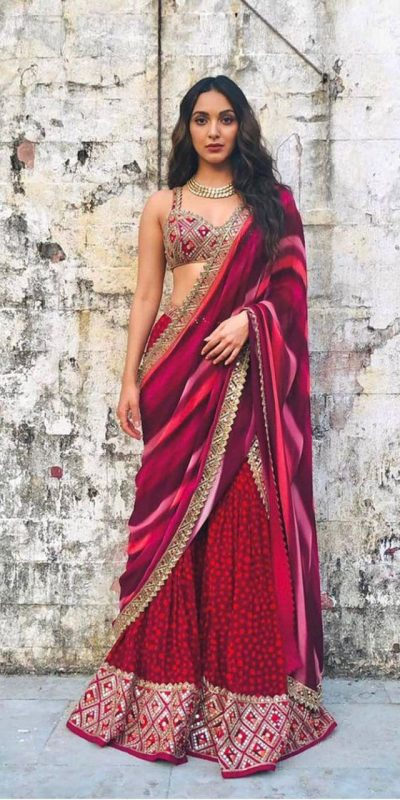 kiara-avani-in-latest-crepe-silk-with-real-mirror-work-trendy-sharara-suit