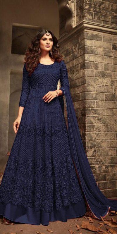 maisha-blue-color-womens-wear-heavy-net-embroidery-anarkali