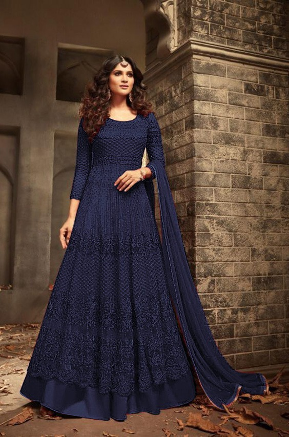 maisha-blue-color-womens-wear-heavy-net-embroidery-anarkali