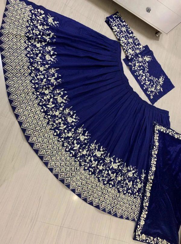 new-designer-blue-colore-embroidered-work-lehenga-choli
