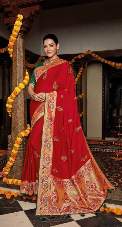 original-pure-pattu-red-color-saree-for-womens-in-events