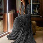 sabyasachi-black-color-fancy-thread-sequence-work-party-wear-saree