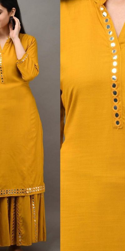 womens-daily-wear-grey-kurti-with-plazzo