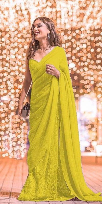 womens-party-wear-yellow-color-georgette-and-sequence-work-saree