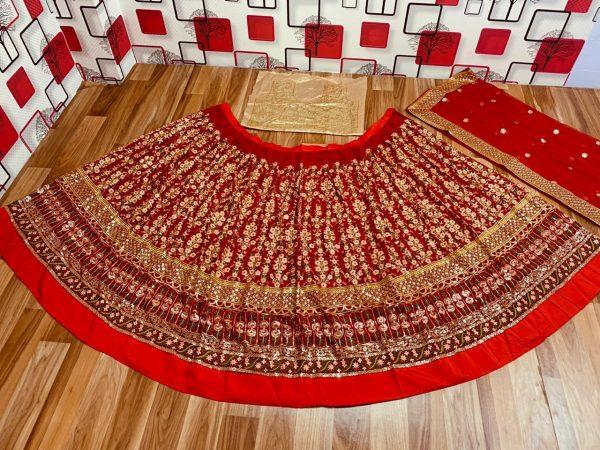 womens-wedding-wear-red-color-georgette-designer-lehenga-choli