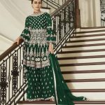 aashirwad-green-color-net-coding-embroidered-sharara-suit