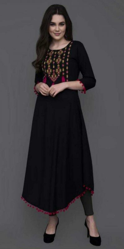 angelic-black-color-heavy-original-rayon-kurti