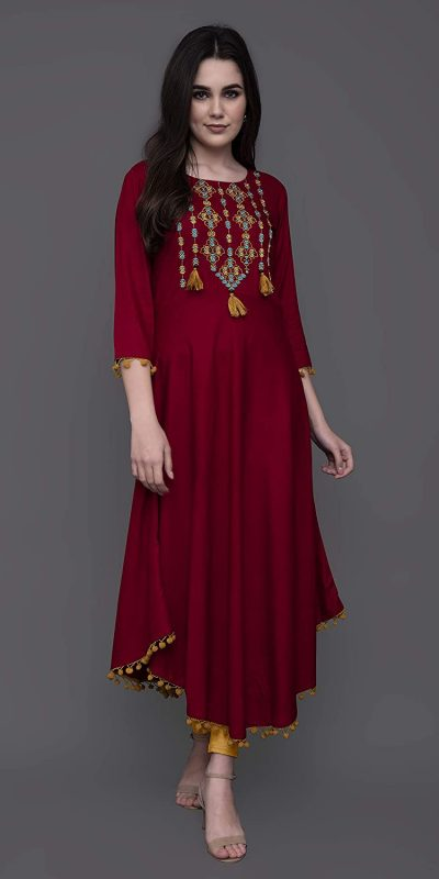 angelic-red-color-heavy-original-rayon-kurti