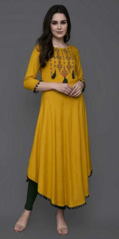 angelic-yellow-color-heavy-original-rayon-kurti