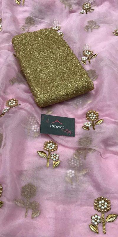 butterfly-net-purple-multi-embroidery-silver-zari-pearl-work-saree