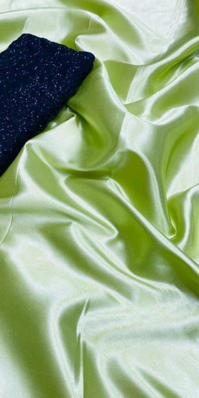exclusive-party-wear-light-green-color-satin-silk-saree