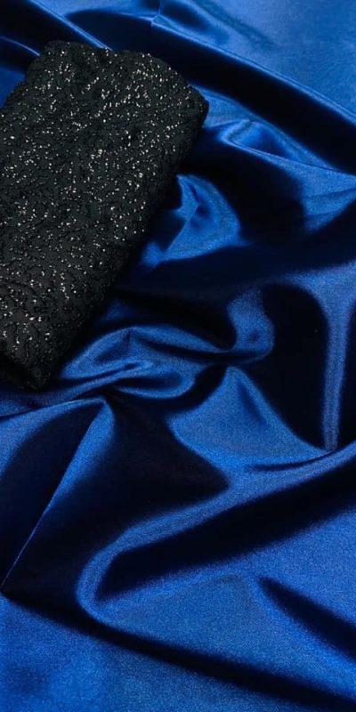 exclusive-party-wear-navy-blue-color-satin-silk-saree