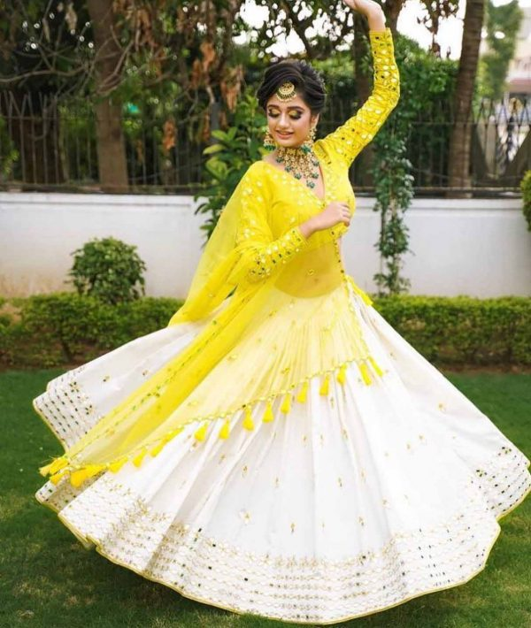 exotic-white-color-heavy-rayon-and-mirror-work-lehenga