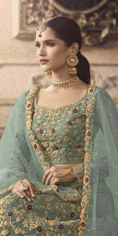maisha-womens-mint-color-net-with-embroidered-lehenga-choli-for-womens