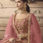 maisha-womens-pink-color-net-with-embroidered-lehenga-choli-for-womens