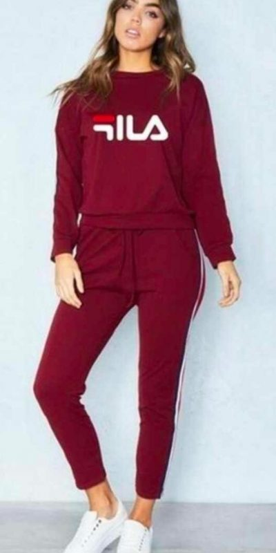 maroon-color-rib-cotton-modern-trendy-wear-track-suit