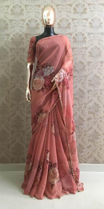 pretty-blush-red-color-georgette-digital-printed-party-wear-saree