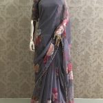 pretty-grey-color-georgette-digital-printed-party-wear-saree