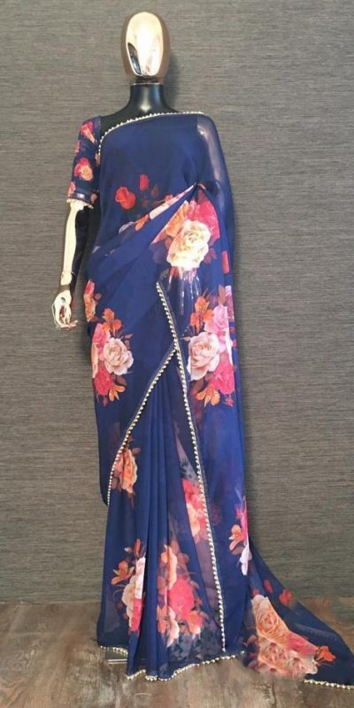 pretty-navy-blue-color-georgette-digital-printed-party-wear-saree