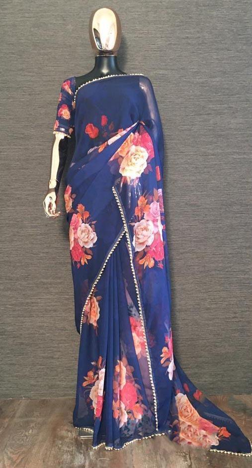 pretty-navy-blue-color-georgette-digital-printed-party-wear-saree