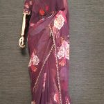 pretty-purple-color-georgette-digital-printed-party-wear-saree