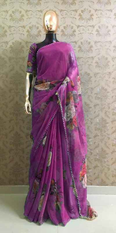 pretty-violet-color-georgette-digital-printed-party-wear-saree