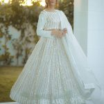 Angel look With White Color Georgette With Sequence Embroidery Work Lehenga Choli