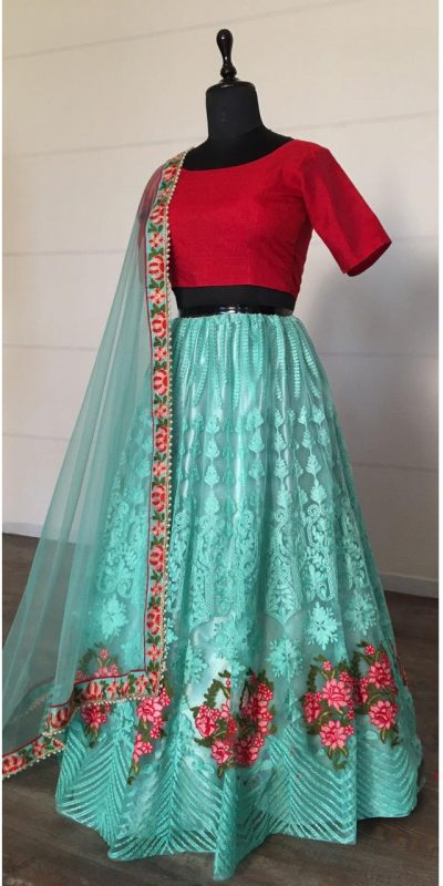 alluring-sky-blue-color-net-with-embroidery-work-lehenga-choli