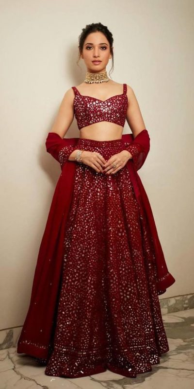 divine-tamanna-in-red-color-heavy-embroidery-bollywood-bridal-lehenga