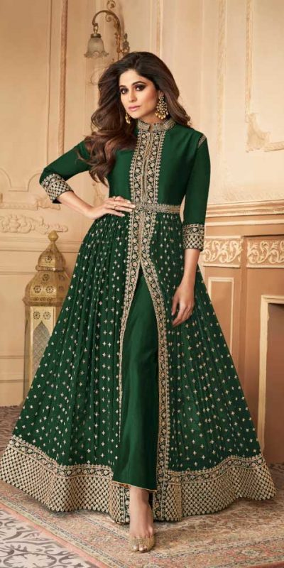 elegant-green-color-georgette-with-embroidery-work-anarkali-suit