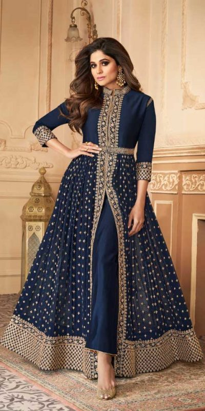 elegant-navy-blue-color-georgette-with-embroidery-work-anarkali-suit