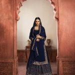 graceful-navy-blue-color-rangoli-silk-festive-wear-sharara-suit