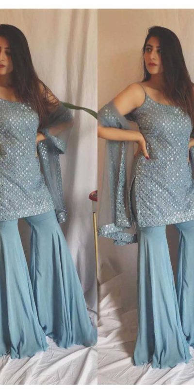 ideal-grey-color-party-wear-mirror-work-sharara-suit