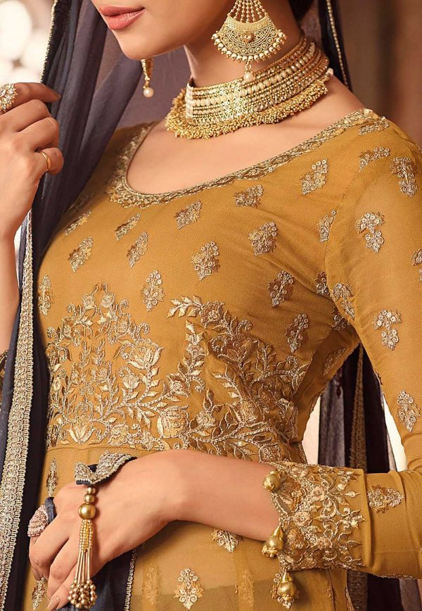 magnificent-yellow-color-georgette-with-embroidered-anarkali-sharara