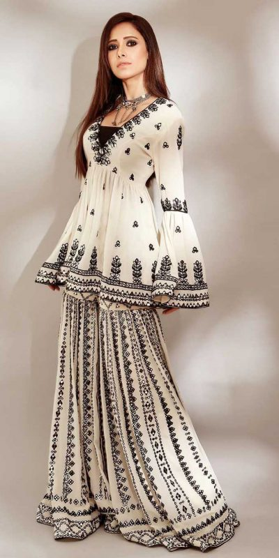 perfect-white-black-color-georgette-with-embroidery-work-plazzo-suit