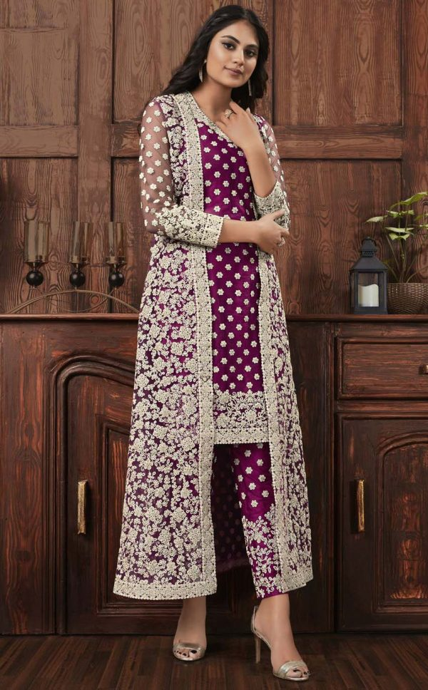 perfect-wine-color-net-with-embroidery-work-salwar-and-jacket