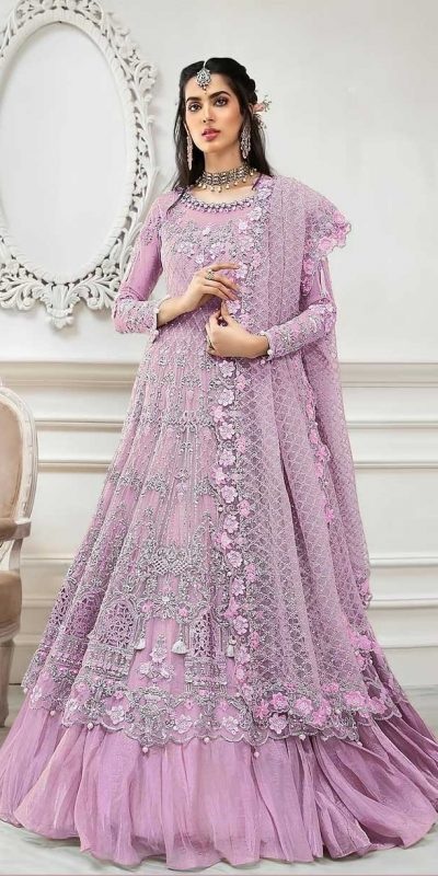 pleasing-pink-color-butterfly-net-with-multi-work-anarkali