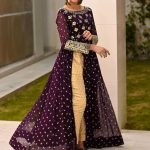 womens-feminine-gown-in-purple-color-heavy-georgette-with-embroidery-work