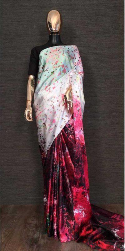 harmonious-white-red-color-heavy-satin-with-digital-printed-saree
