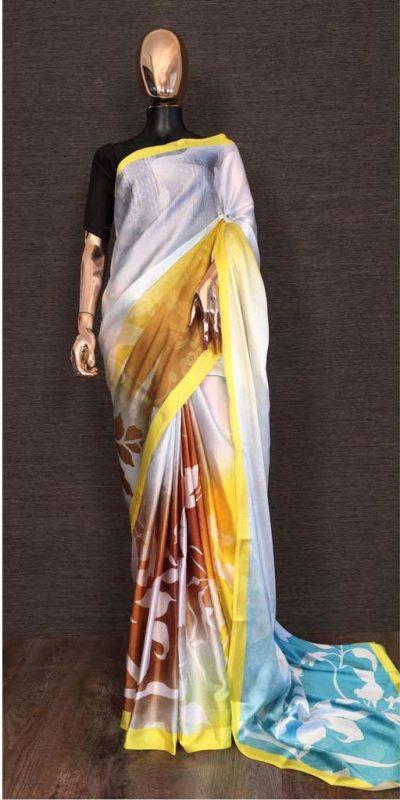 harmonious-yellow-white-color-heavy-satin-with-digital-printed-saree