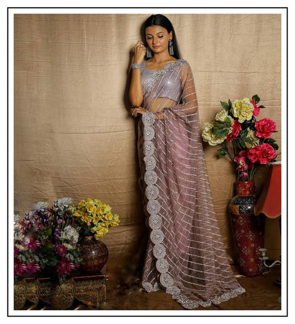 pretty-purple-color-butterfly-net-with-embroidery-work-saree