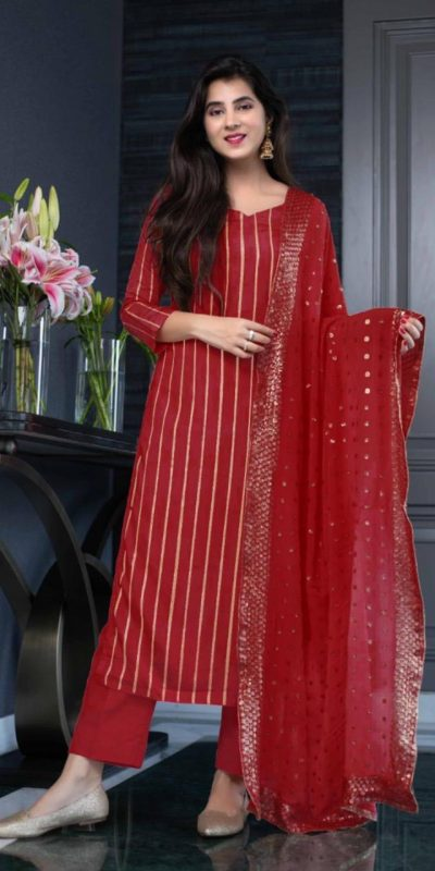 aglowing-red-color-heavy-georgette-with-sequence-work-salwar-suit
