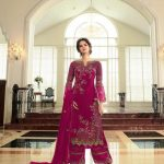 breathtaking-womens-pink-color-georgette-with-embroidery-work-plazzo-suit